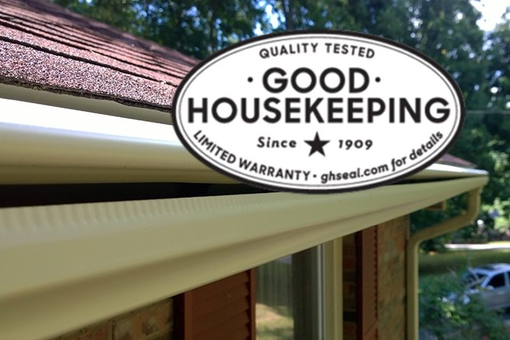 LeafGuard's Good Housekeeping Seal - Bauer Specialty