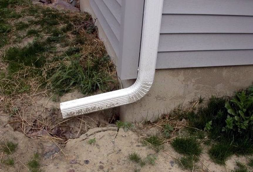 Everything You Should Know About Downspouts - downspout soil erosion