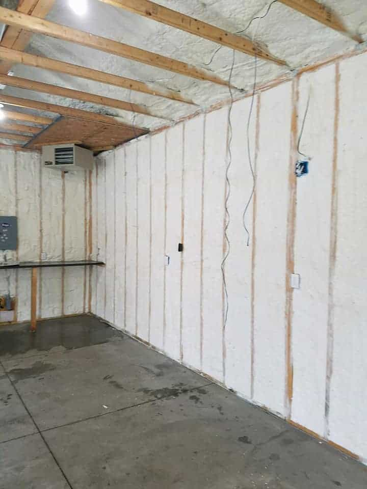 Garages Need Foam Insulation Too