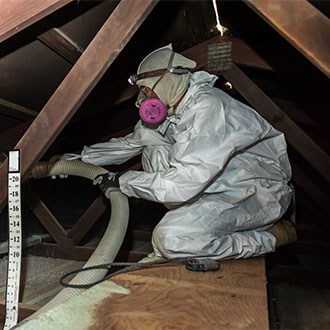 blown-in fiberglass insulation company